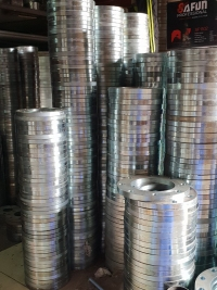 Galvanized steel flanges
